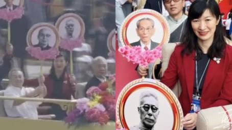 国庆日是他建议的!爷爷参加开国大典,孙女代他观盛世中国