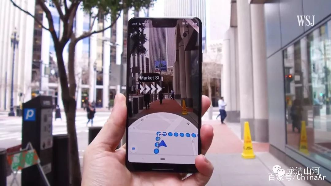 Google地图AR导航Live View适用于iPhone和Android平台 AR资讯 第2张