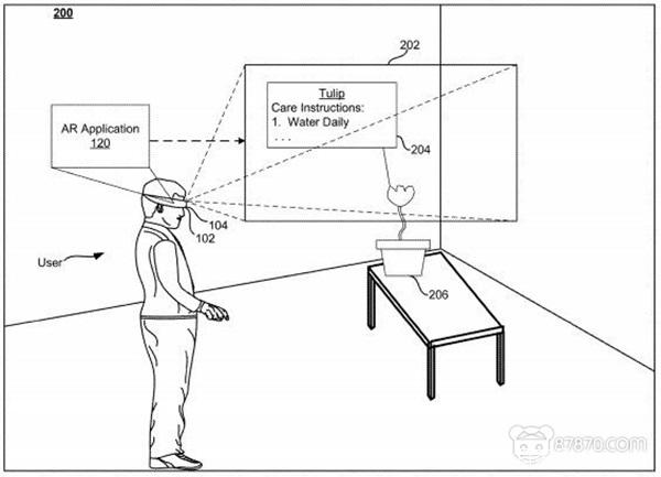 新专利曝光 谷歌正秘密开发AR眼镜 AR资讯 第1张