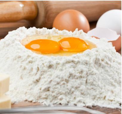 在家做蛋糕没面粉?普通面粉变低筋面粉,办法其实很简单!