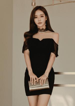 黑色连衣裙,轻松穿出黑天鹅般的优雅公主风