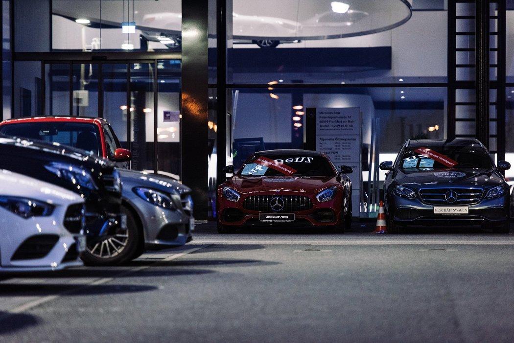 德国法兰克福的梅赛德斯·奔驰经销店。 该国的汽车制造商严重依赖中国市场。