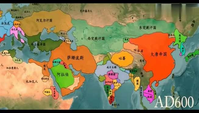 世界版图变迁中的历代中国演变,这个朝代差点吞并了欧美大陆!