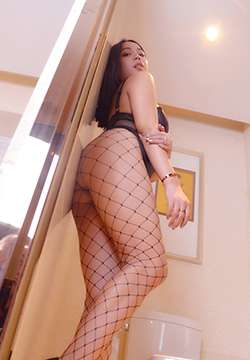 [PANS写真] 长发美女妮妮诱惑网袜美翘臀写真图片 第82