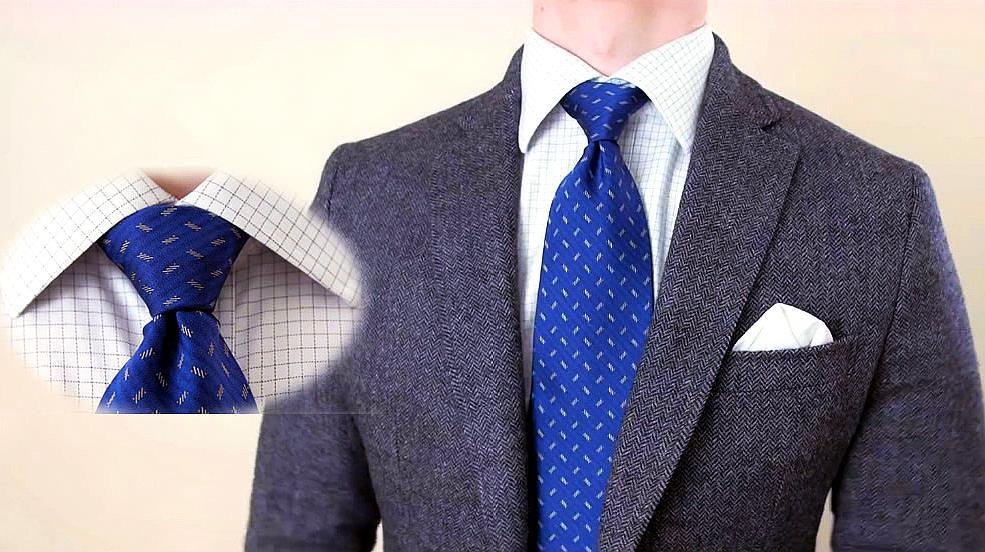 溫莎領帶結的打法,教你如何打商務領帶結