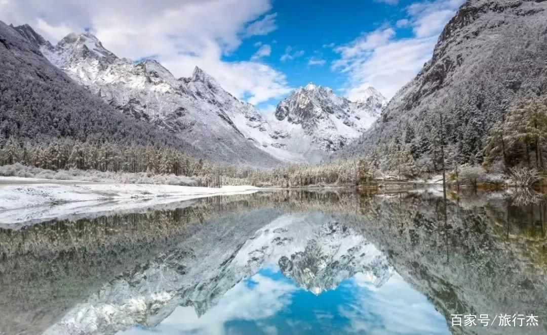 """""""暖雪""""之美称理县,不可多得的冰雪运动胜地"""