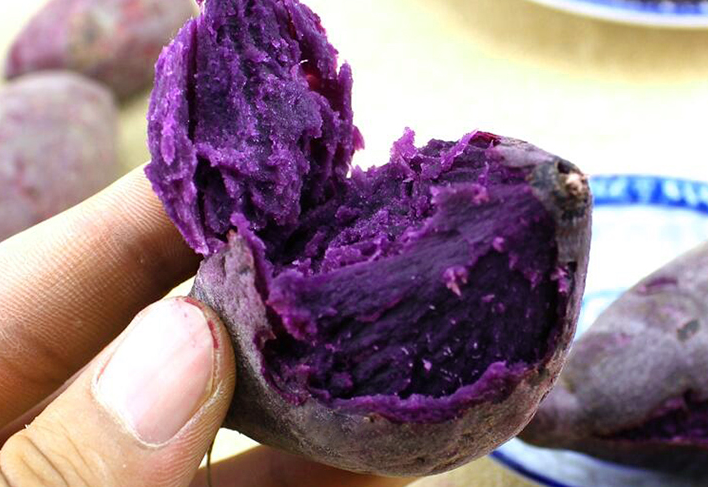紫薯多吃不胖,学会这3个小窍门,买到的紫薯个个香甜好吃