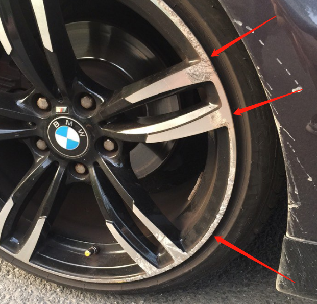 车子换一个轮毂五百就没了,汽修工直言:自己修能省很多钱
