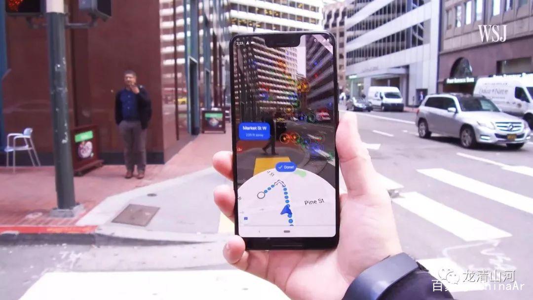 Google地图AR导航Live View适用于iPhone和Android平台 AR资讯 第6张