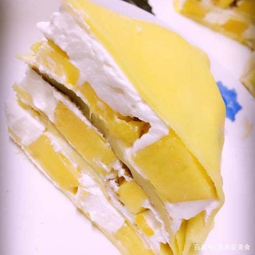 看似复杂的芒果千层蛋糕,制作起来其实这么容易,快来看看!