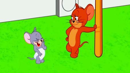 猫和老鼠:水龙头都比你大了,不要这么嚣张!汤姆真是惨呀!