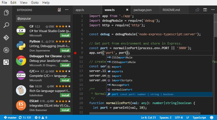 新手写Python程序有什么推荐好用编辑器