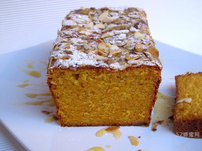 蜂蜜地瓜杏仁蛋糕制作方法