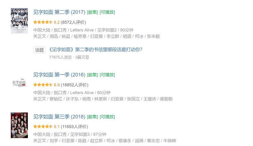 芒果台四年综艺大变形,《见字如面》不如《朋友请听好》,新操作