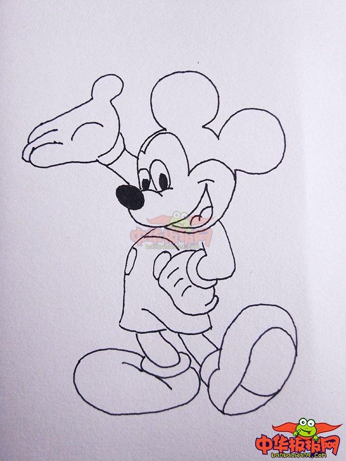各种卡通人物简笔画步骤图,q版可爱卡通人物简笔画,超萌