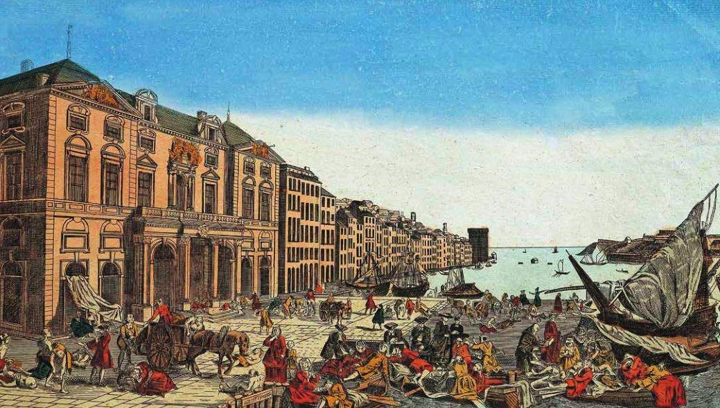 1720 年,鼠疫从港口城市开始向法国南部地区传播,共造成 12 000 人死亡,超过当地人口的三分之一。