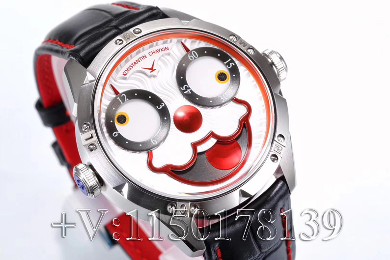 小猪佩奇潮表!俄罗斯切金小丑堪称年度最特别复刻表!