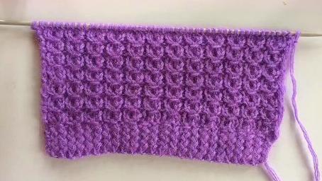 常用的銅錢花織法教程,編織毛衣特別好看,適合新手菜鳥