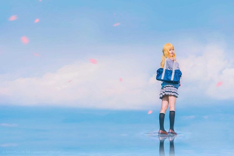 ⭐微博红人⭐桜桃喵人气Coser-四月【10P/7MB】插图2