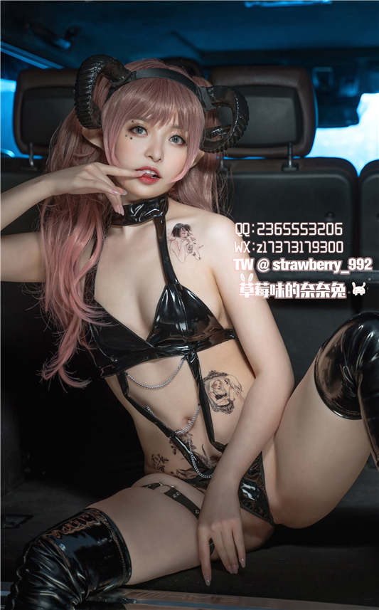 草莓味的奈奈兔 - 奔驰大G[44P/413MB]
