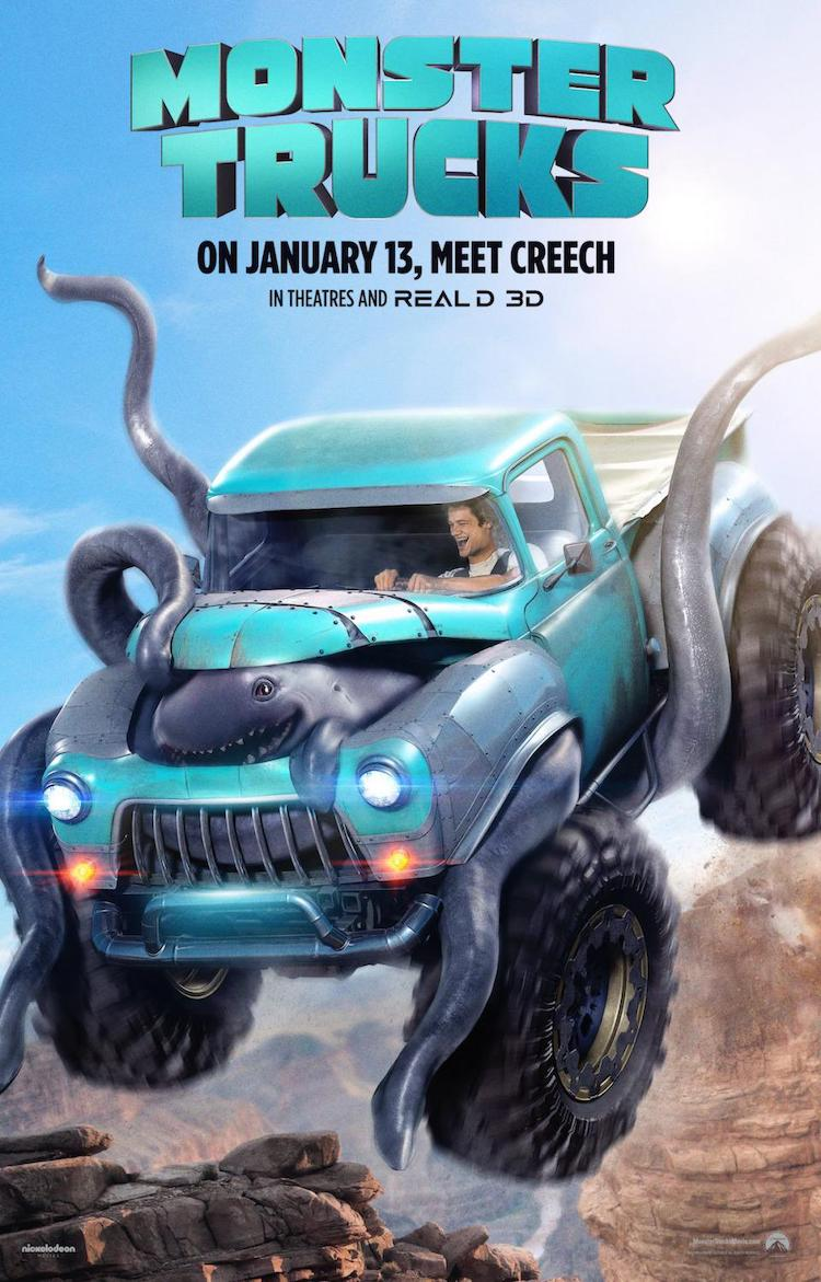 【影评】《怪兽卡车》:蠢萌怪兽加卡车做出属于自己的飞车特色