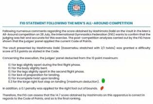 闹出了国际笑话,闹出了一个历史首次!国际体操联合会出面澄清
