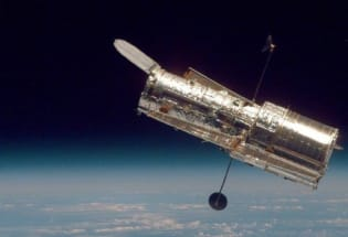没有退休计划的哈勃望远镜死机了
