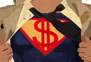 超级富豪成不了超级英雄