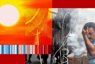 气候变化:气温超过50C°的日子