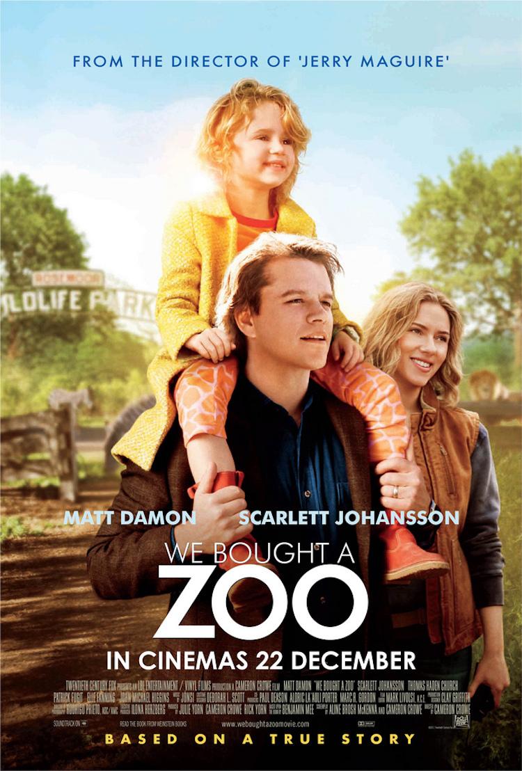 电影《我家买了动物园》评价:剧情触动心灵深处之外,配乐清澈、明亮、温暖