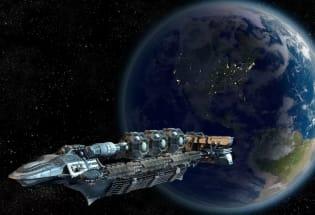 我国想要建造1公里长的超级宇宙飞船