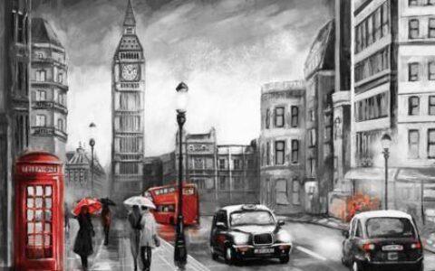 中本聪在伦敦,创造比特币