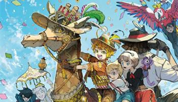 「约定的梦幻岛」最新短篇集封面&五周年纪念壁纸公开