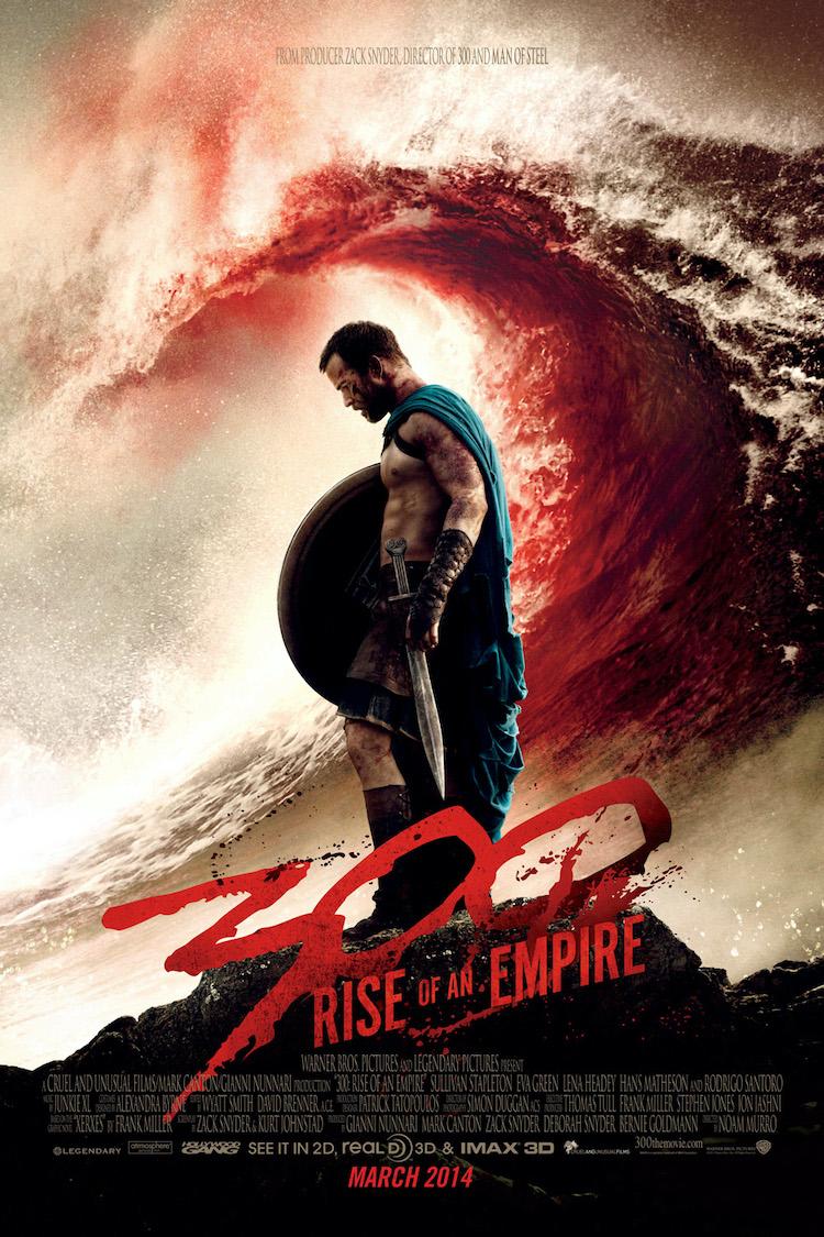 【影评心得】《300勇士:帝国崛起》:剧情确实普普通通,主要看动作效果吧
