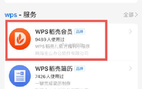 """支付宝搜索""""WPS""""WPS稻壳会员,免费领取稻壳会员15天"""