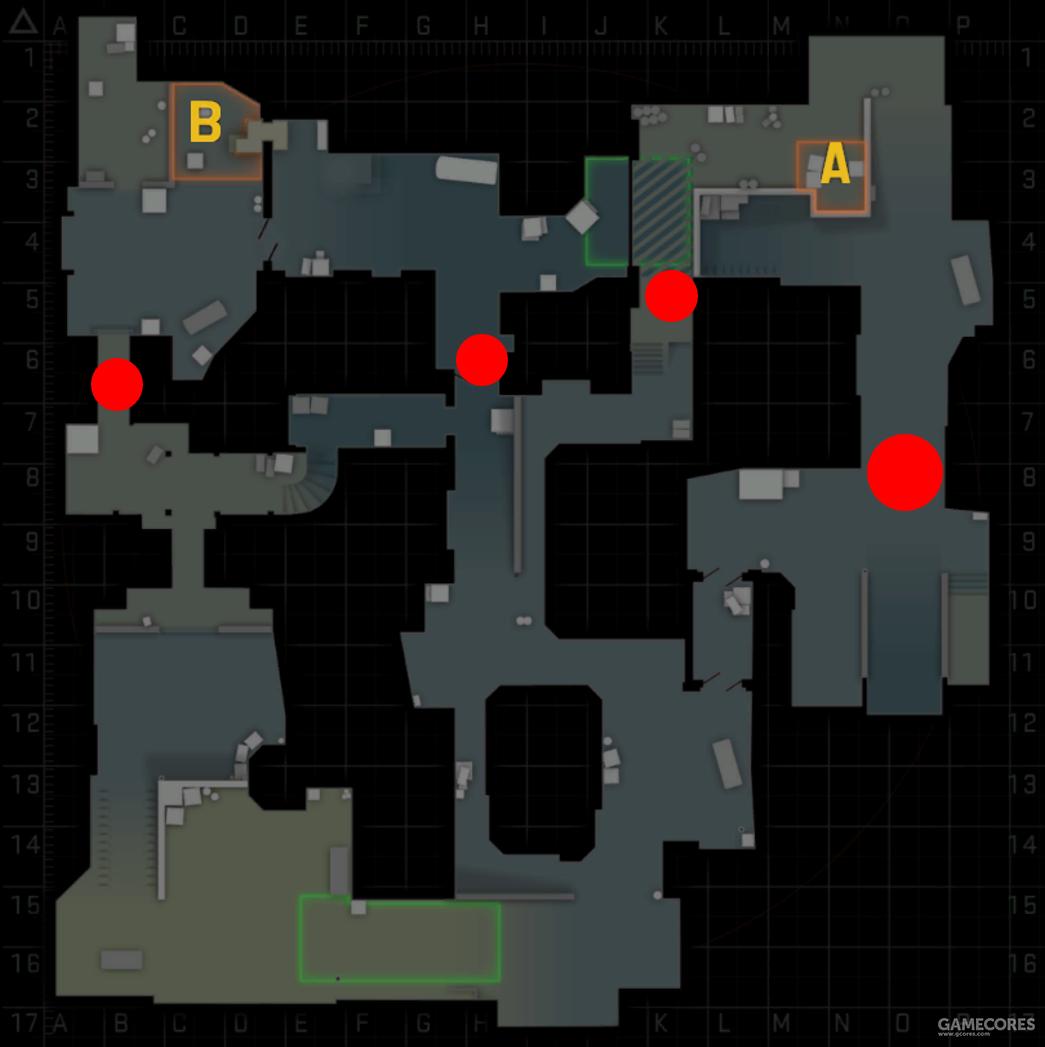 游戏前期的阻塞点分布