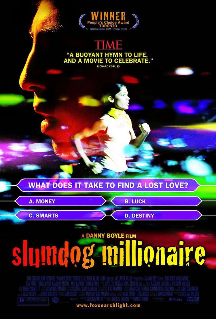 丹尼·博伊尔《贫民窟的百万富翁》影评:充满能量,特别又迷人