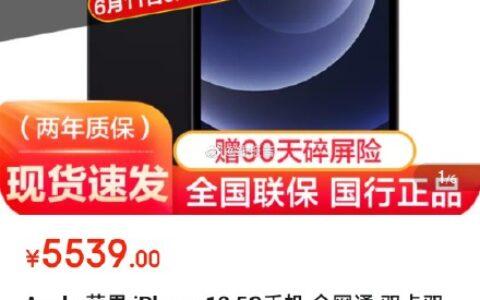 iPhone 12,128g,加车极速版价格【5539】Apple 苹果