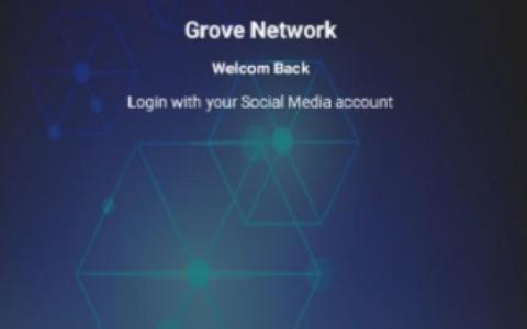 Grove Network格罗夫币:简单谷歌邮箱登录送10币,日挖48个币,24小时点击一次