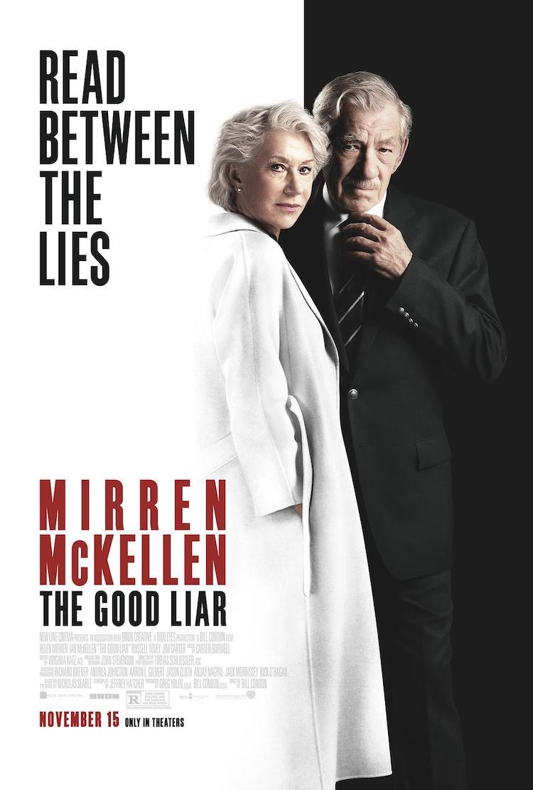 海伦·米伦《谎言大师》电影影评:两个老年人的相识、相欺与相智究竟有什么看头?
