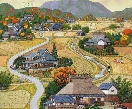 日本乡村彩绘