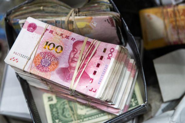 人民币对美元的汇率在去年下半年大幅上升。