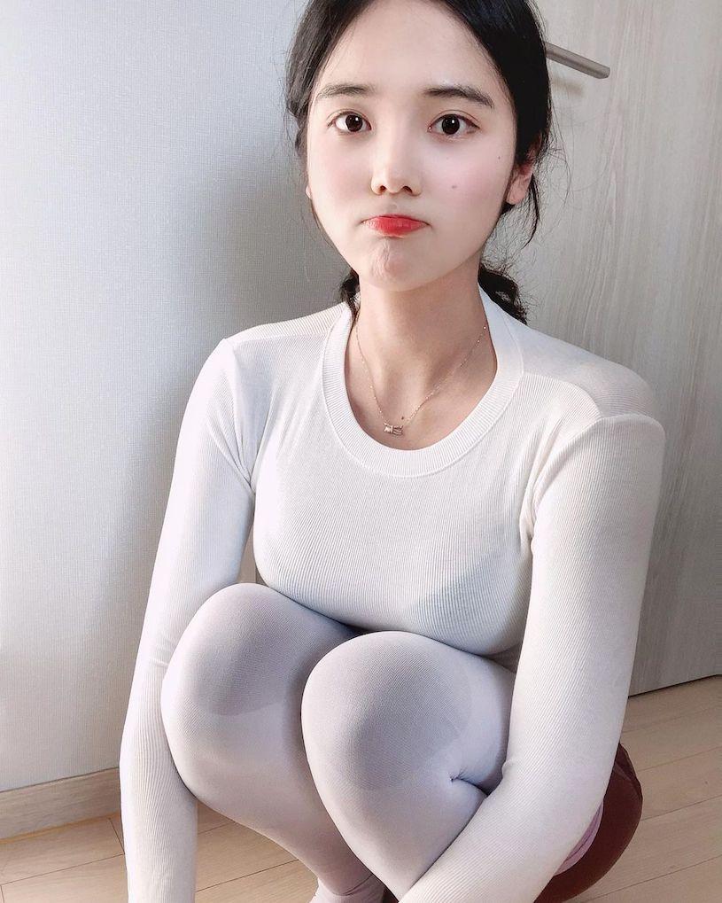 韩国纯情妹子@ 유 주性感图片,蓝色内衣爆乳画面很震撼 文章 第5张