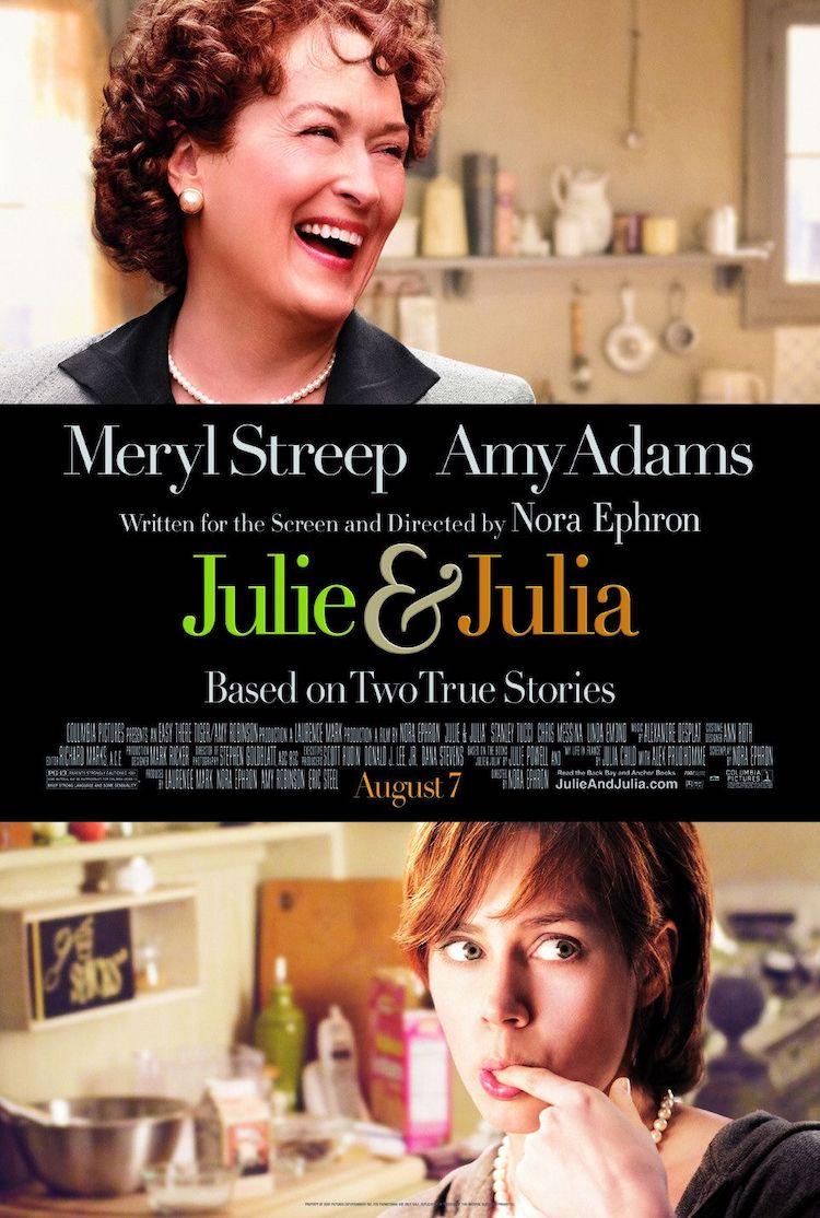梅丽尔·斯特里普电影《朱莉与朱莉娅》观后感:美食与爱情的绝配
