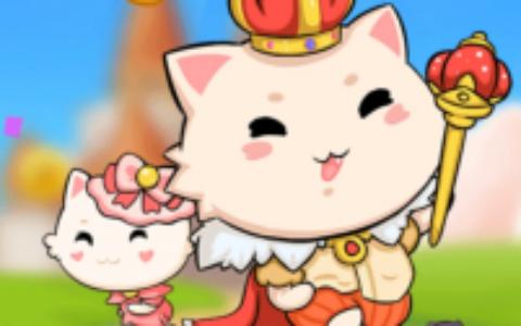 一起养猫咪:即将上线,陀螺合成模式,推广5人就送永久分红猫!