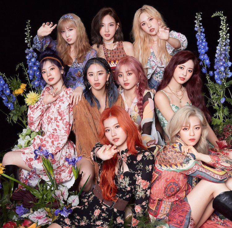 韩国twice组合成员资料及歌曲介绍
