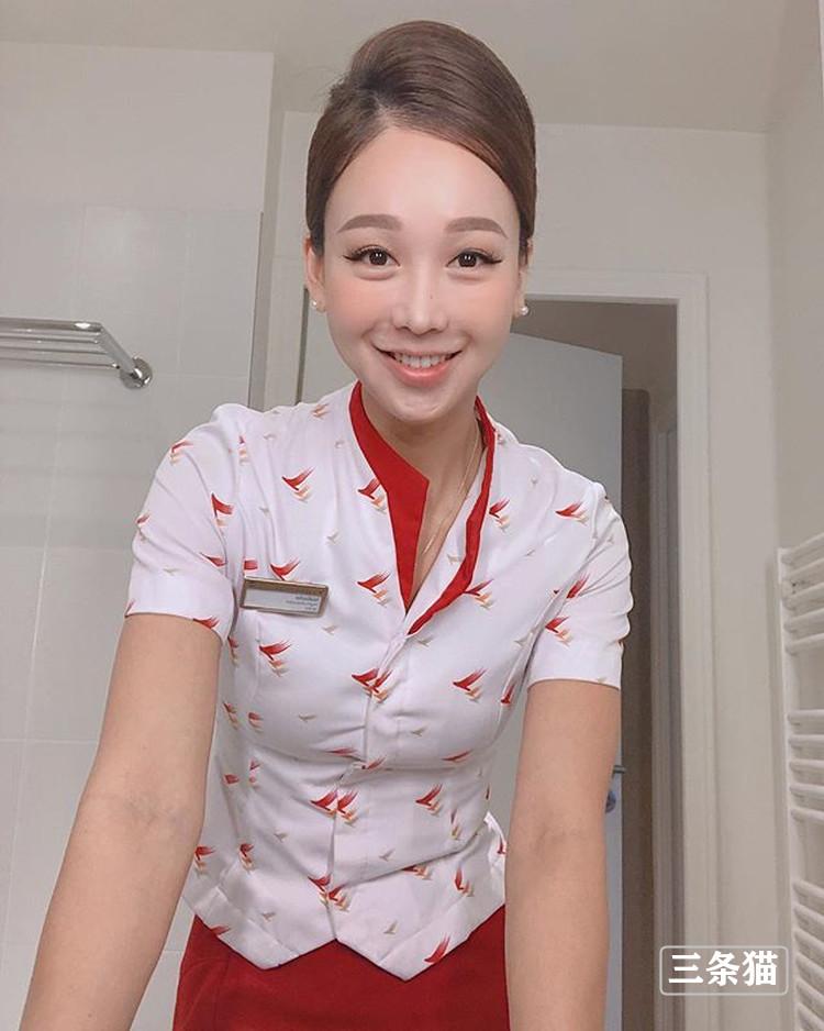 美女空姐@Krit Seoyoon旅游照片,长相仙气身材超好