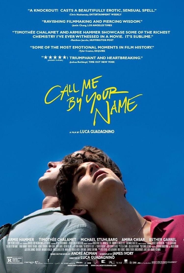 请以你的名字呼唤我(Call Me by Your Name)电影:最纯粹的爱