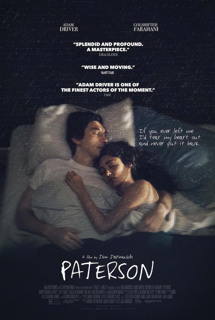 《帕特森》电影:点点滴滴在诗句,平平淡淡见生活