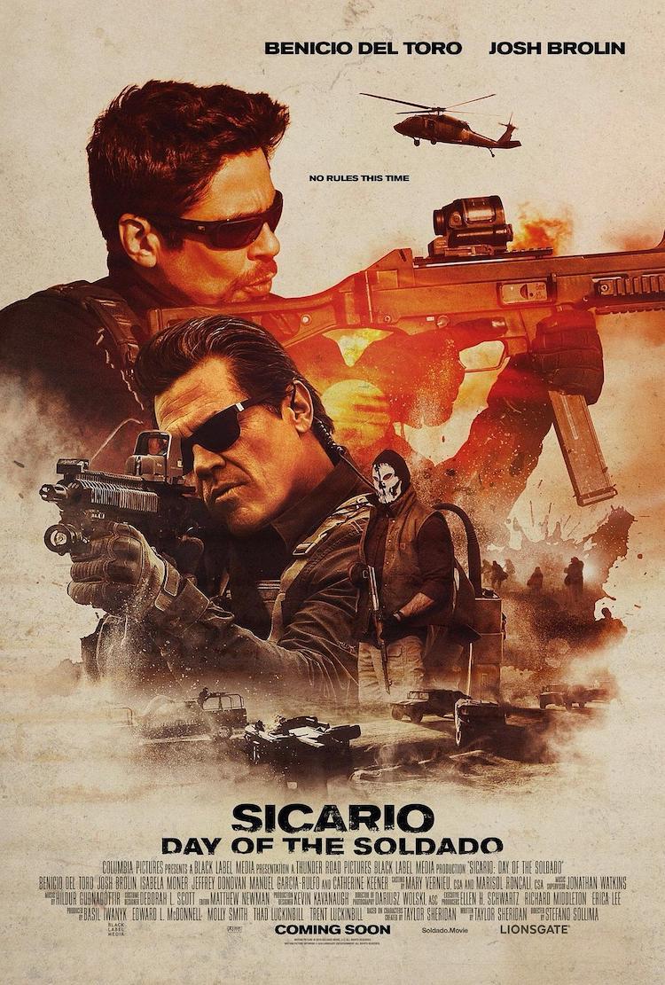 《边境杀手2:边境战士》豆瓣6.7不算高的评分,电影好看吗?